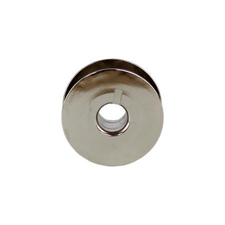 Szpulka do stebnówki przemysłowej - metalowa, z nacięciem, fig. 2
