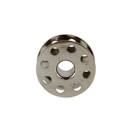 Szpulka do stebnówek przemysłowych - metalowa, z otworami, fig. 2