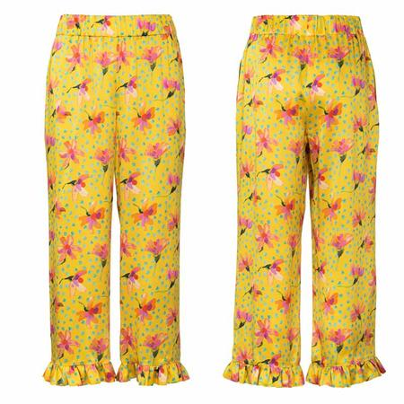 Wykrój BURDA: spodnie lub szorty z gumką w pasie i falbankami przy nogawkach, fig. 6