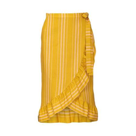 Wykrój BURDA: spódnica kopertową z paskiem i wiązaniami, fig. 7