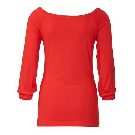 Wykrój BURDA: bluzka zraglanowymi rękawami i szerokim dekoltem, fig. 5