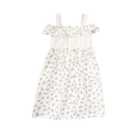 Wykrój BURDA: sukienka na ramiączkach zzapięciem na guziki imarszczoną spódnicą, fig. 6