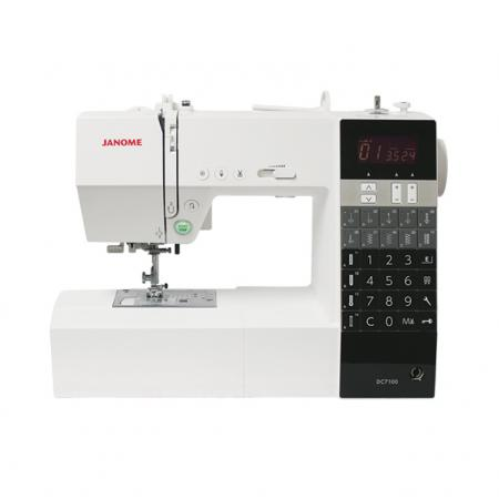 JANOME DC7100, fig. 1