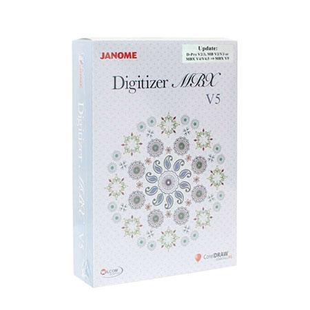 Uaktualnienie programu Janome Digitizer Pro/MB/MBX do wersji - MBX 5.5, fig. 1