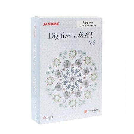 Rozszerzenie (upgrade) programu Digitizer Jr do pełnej wersji MBX ver 5.0, fig. 1